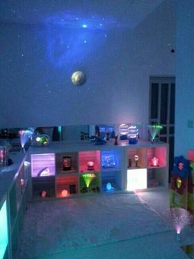 visual sensory room